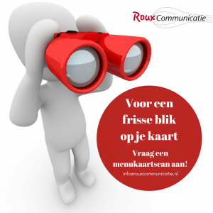 menukaartcheck product roux communicatie