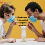 5 ideeën om je menukaart coronaproof te maken roux communicatie