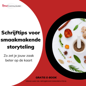 E-book smaakmakende storytelling Roux Communicatie 2021